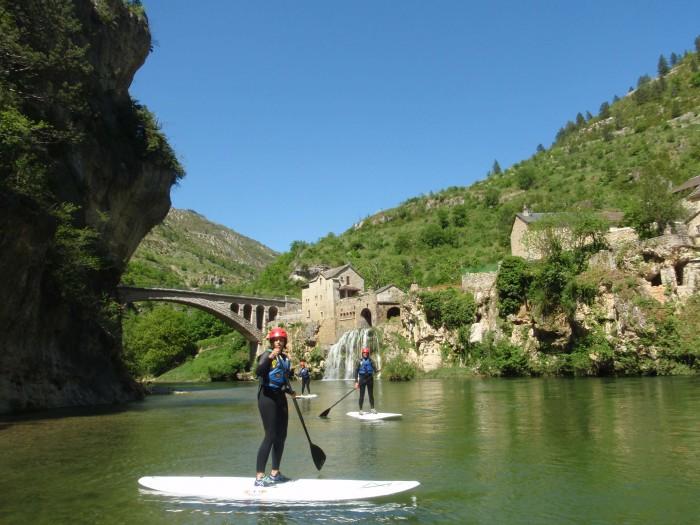Location de Stand up paddle dans les gorges du tarn