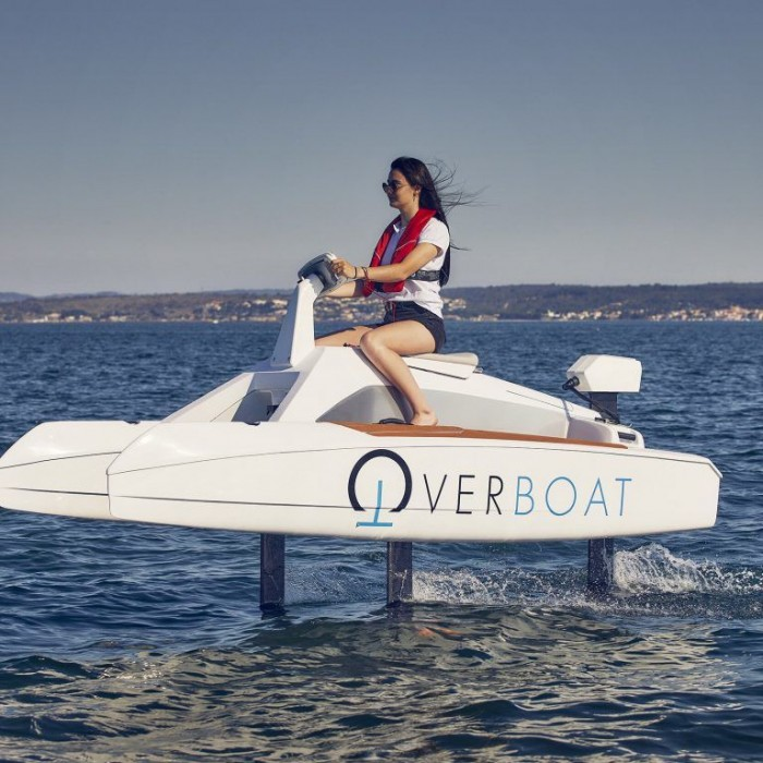 Overboard carnon le jetski de demain