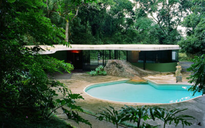 Oscar Niemeyer et la maison des Canoas