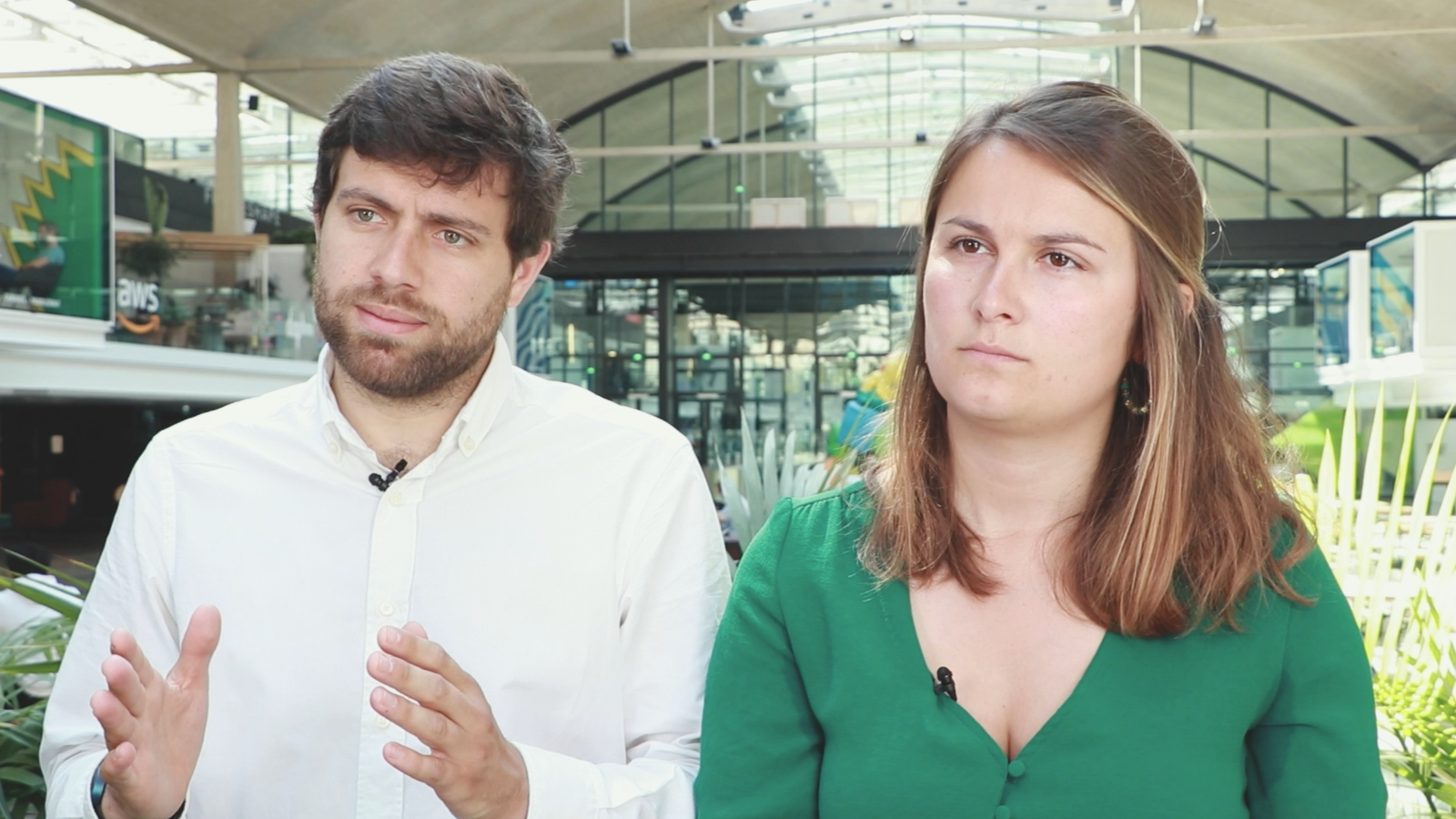 Thumbnail for news article called Building Something with Maud Payan & Anthoine Dusselier, Founders of Tarmac Technologies (Future 40, 2019)