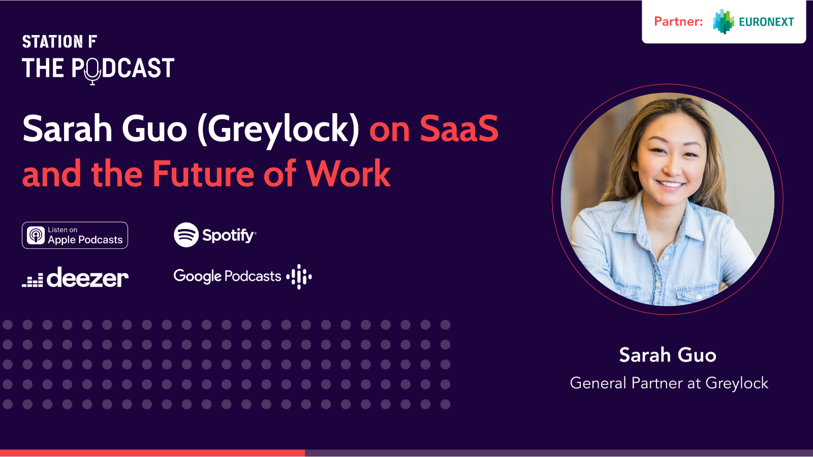 Thumbnail for news article called Sarah Guo (General Partner at Greylock) on SaaS and the Future of Work