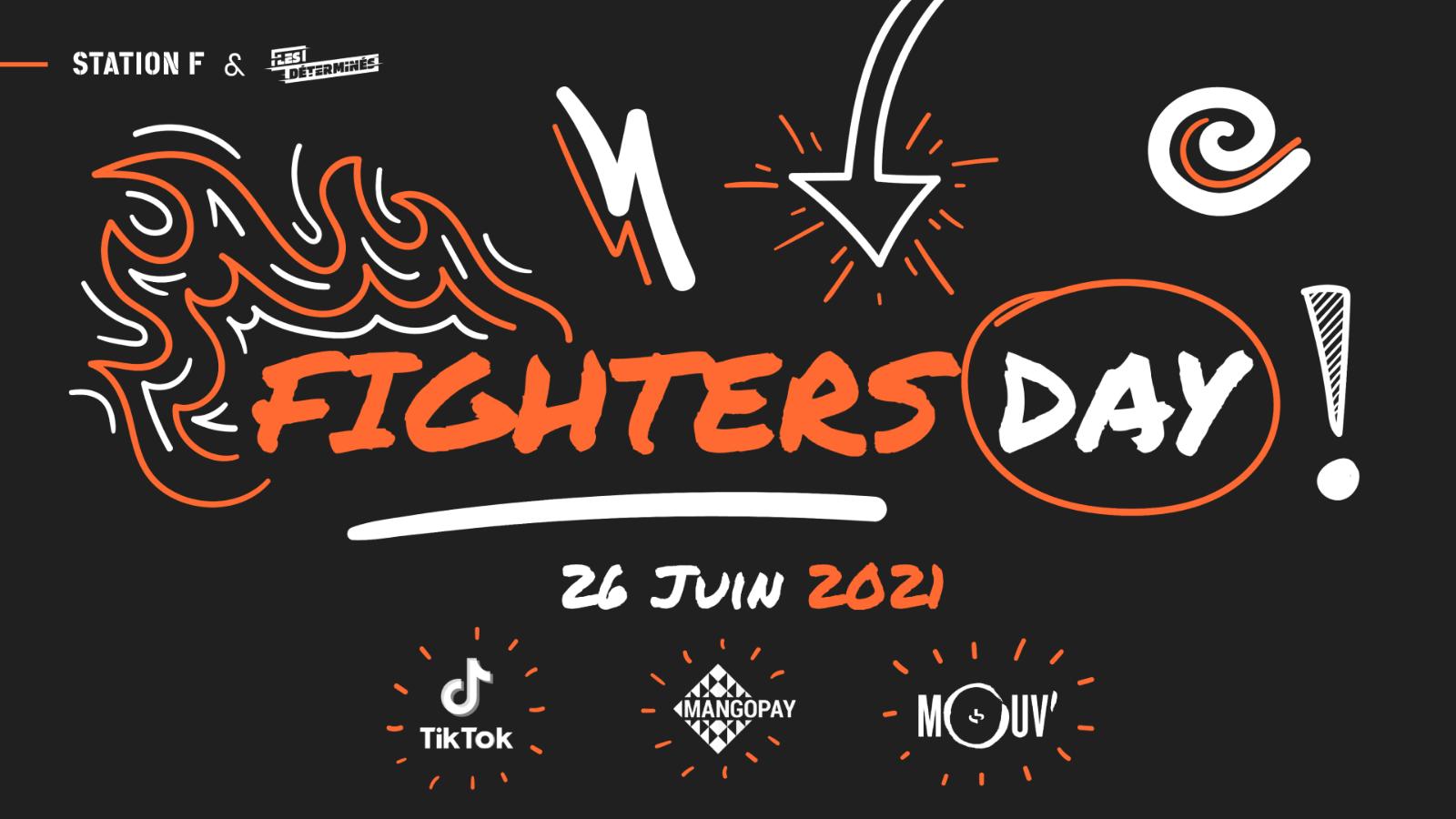 Thumbnail for news article called Xavier Niel, Moussa Camara et Olivier Rousteing participeront à Fighters Day à STATION F le 26 juin