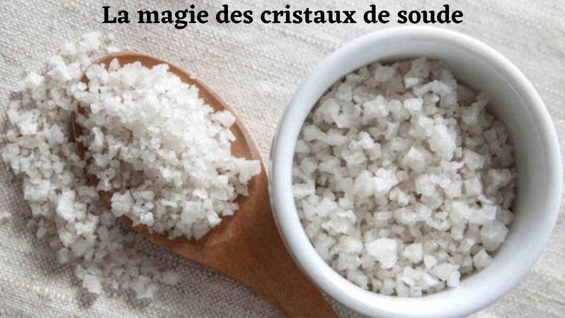 cristaux de soude