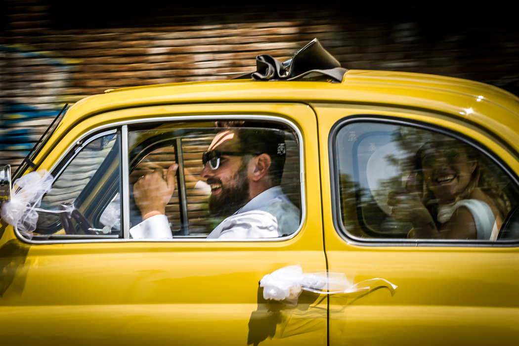 Camera Car per Matrimoni