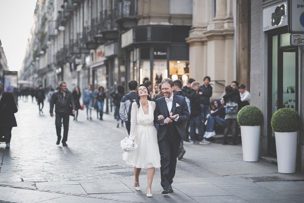 foto di sposi a torino