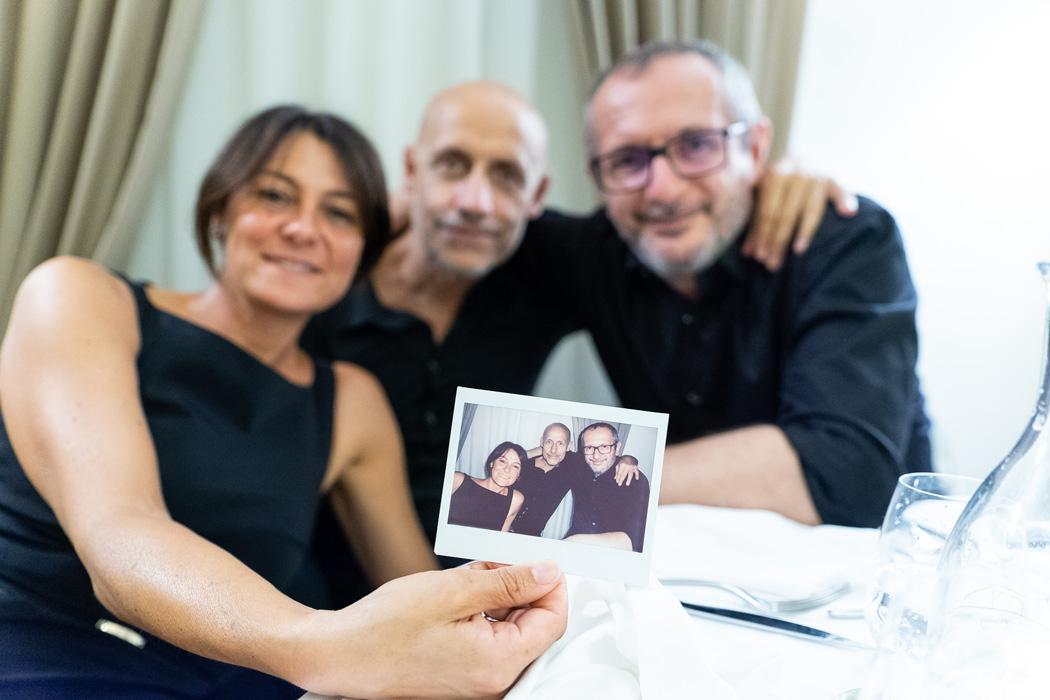 Foto Polaroid Matrimonio