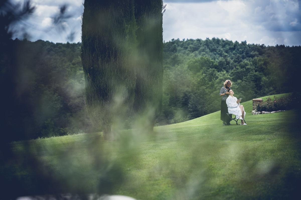 foto di matrimonio al podere dionora