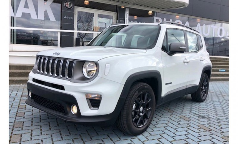 Jeep Renegade Limited 1.0T 120 pk 2e HANDS