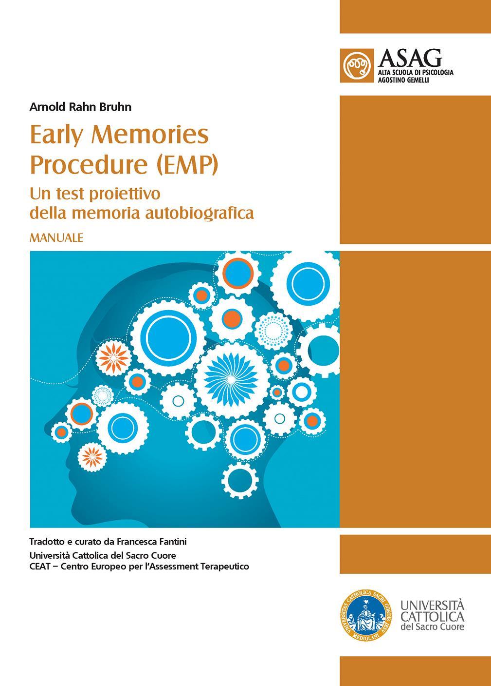 MANUALE - EARLY MEMORIES PROCEDURE (EMP) UN TEST PROIETTIVO DELLA MEMORIA AUTOBIOGRAFICA
