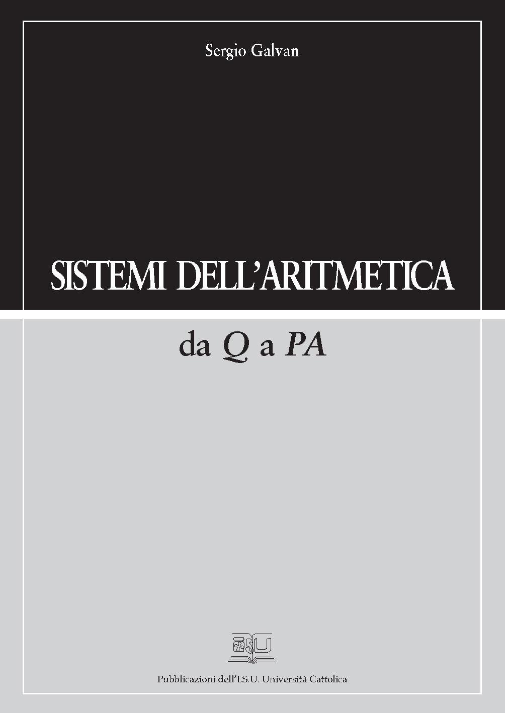 SISTEMI DELL'ARITMETICA DA Q A PA