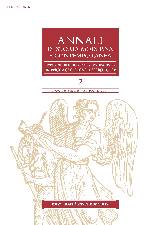 ANNALI DI STORIA MODERNA E CONTEMPORANEA 2014/2