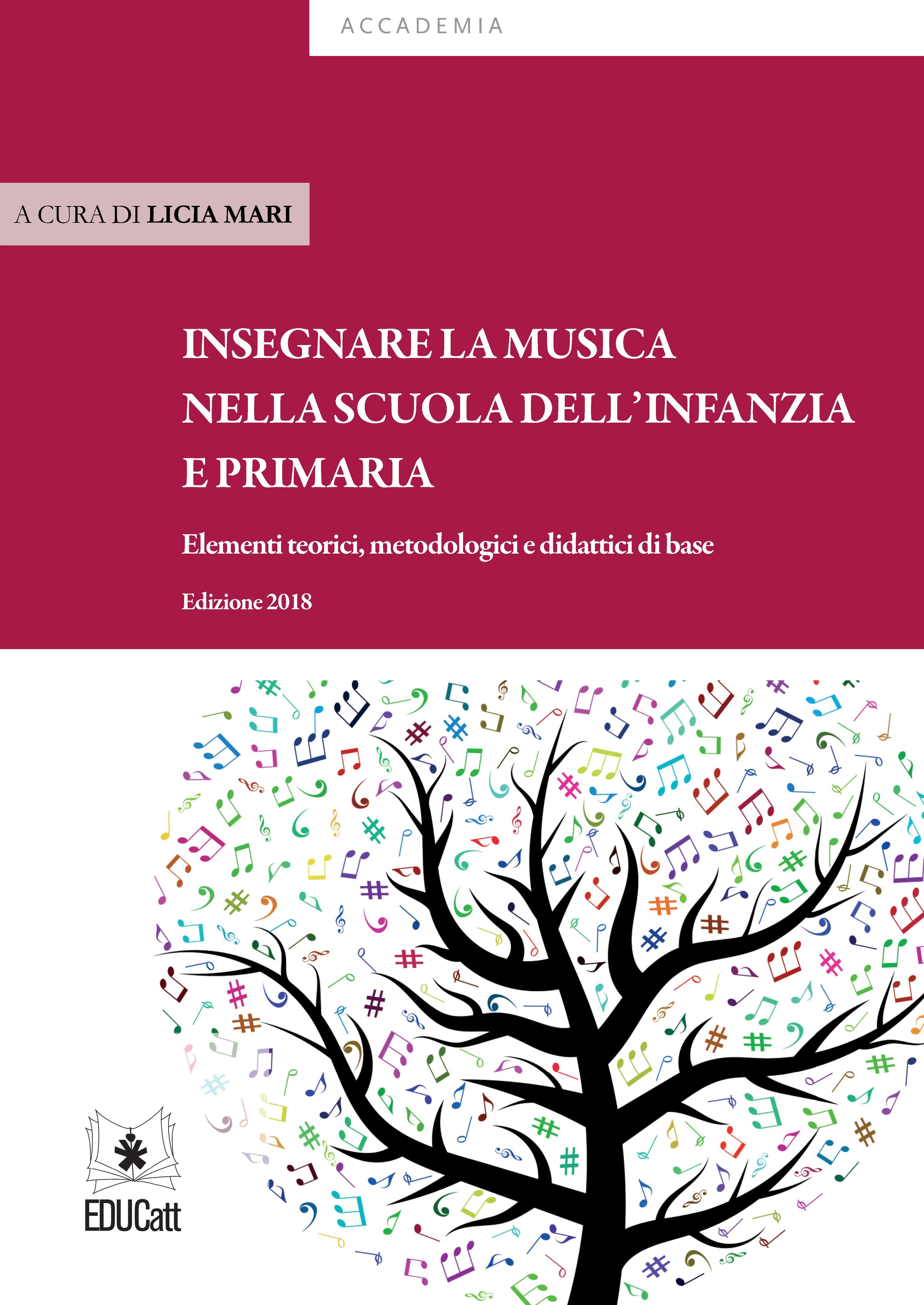 INSEGNARE LA MUSICA NELLA SCUOLA DELL'INFANZIA E PRIMARIA EDIZIONE 2018