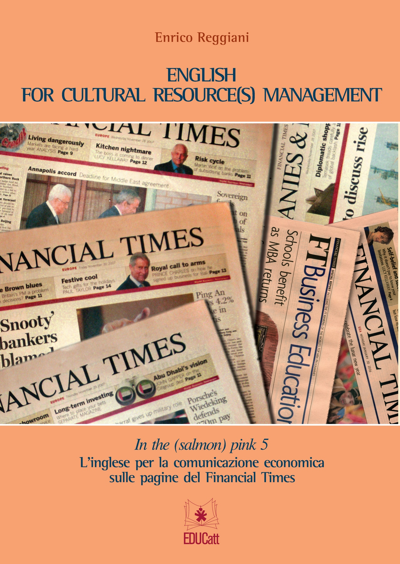 IN THE (SALMON) PINK 5. ENGLISH FOR CULTURAL RESOURCE(S) MANAGEMENT