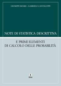 Note di statistica descrittiva e primi elementi di calcolo delle probabilità 2020