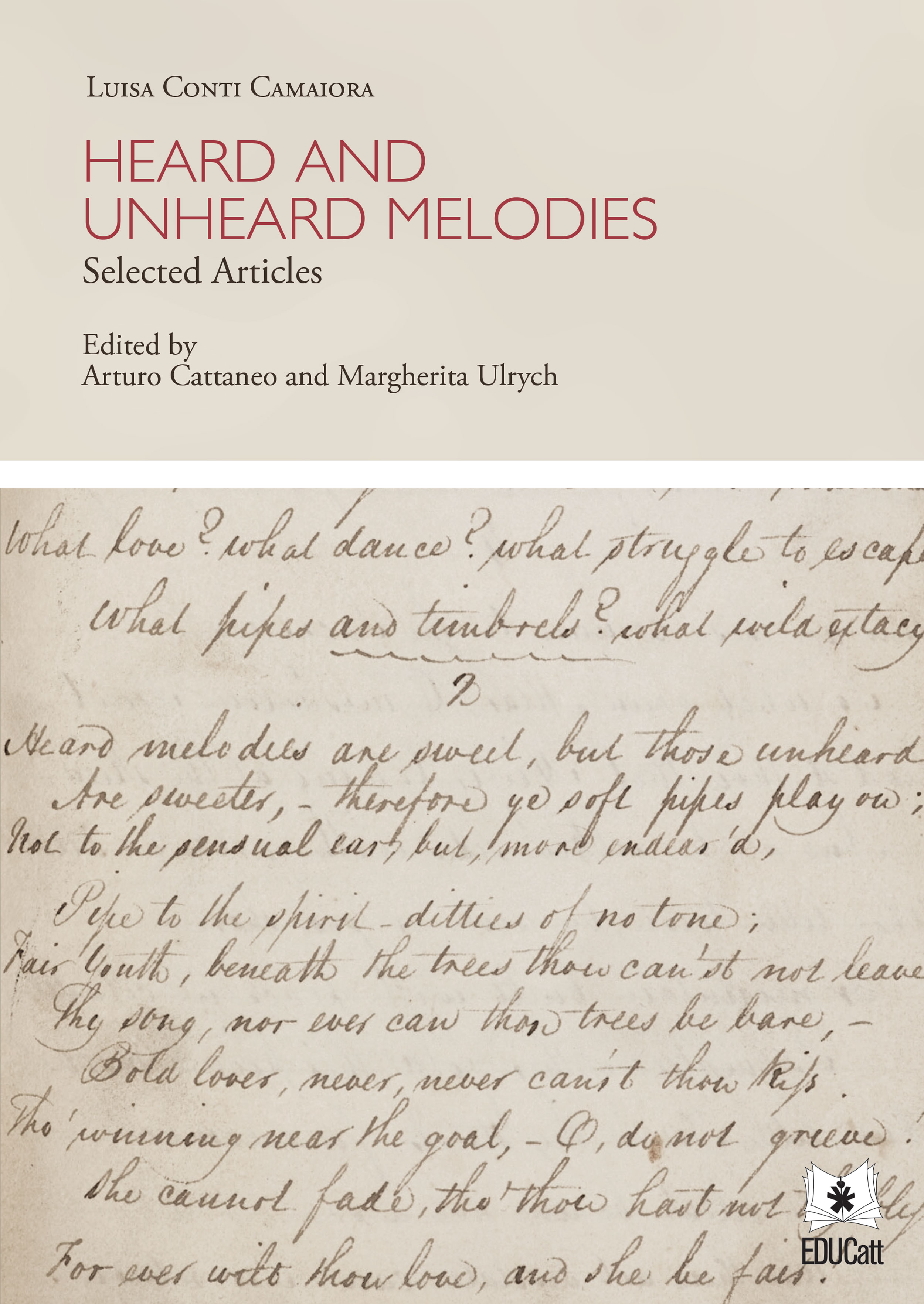 HEARD AND UNHEARD MELODIES. SELECTED ARTICLES