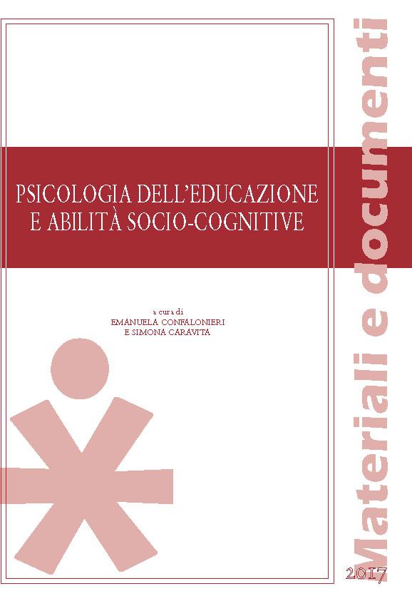 PSICOLOGIA DELL'EDUCAZIONE E ABILITA' SOCIO-COGNITIVE (BANDA ROSSA)