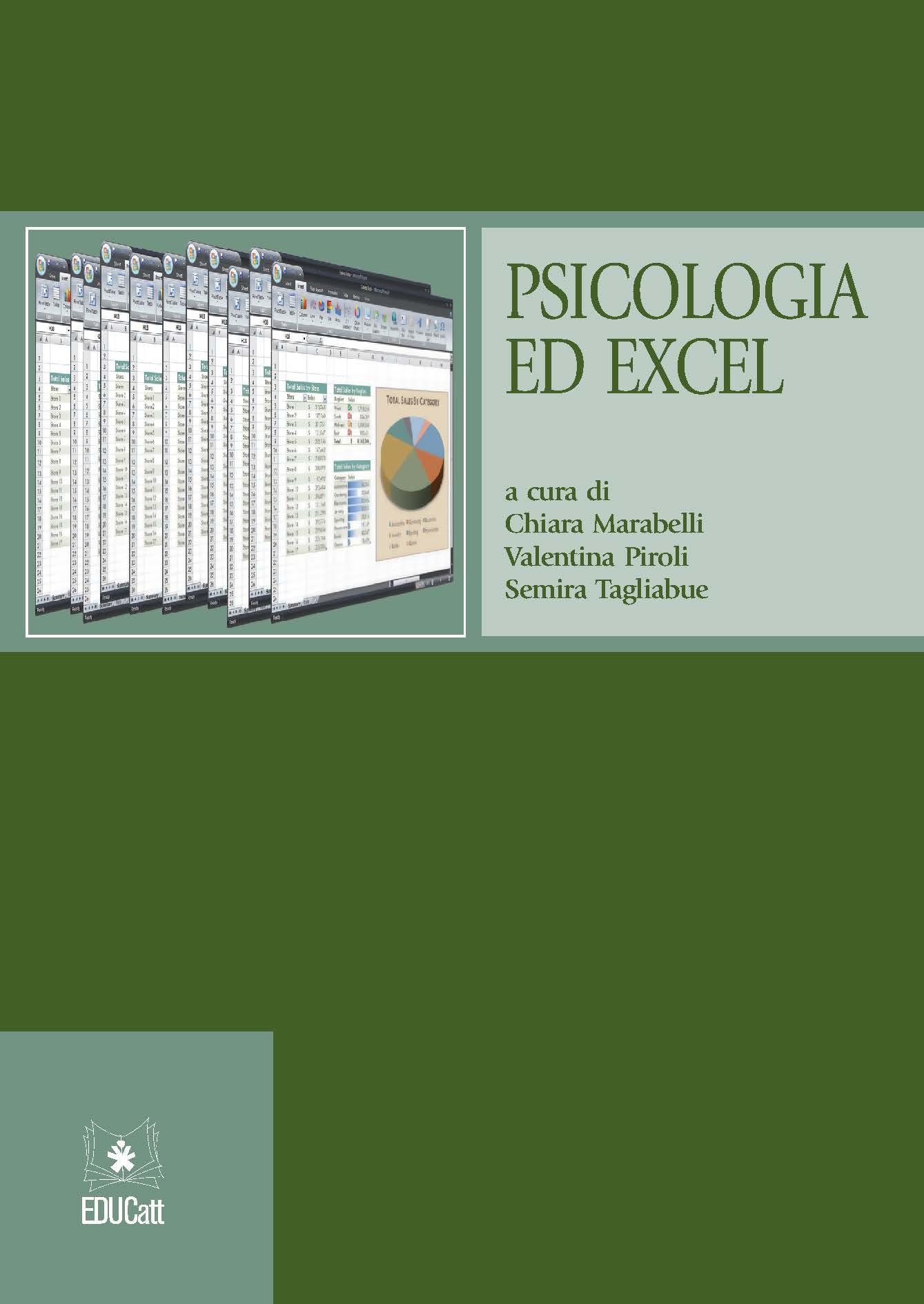 PSICOLOGIA ED EXCEL