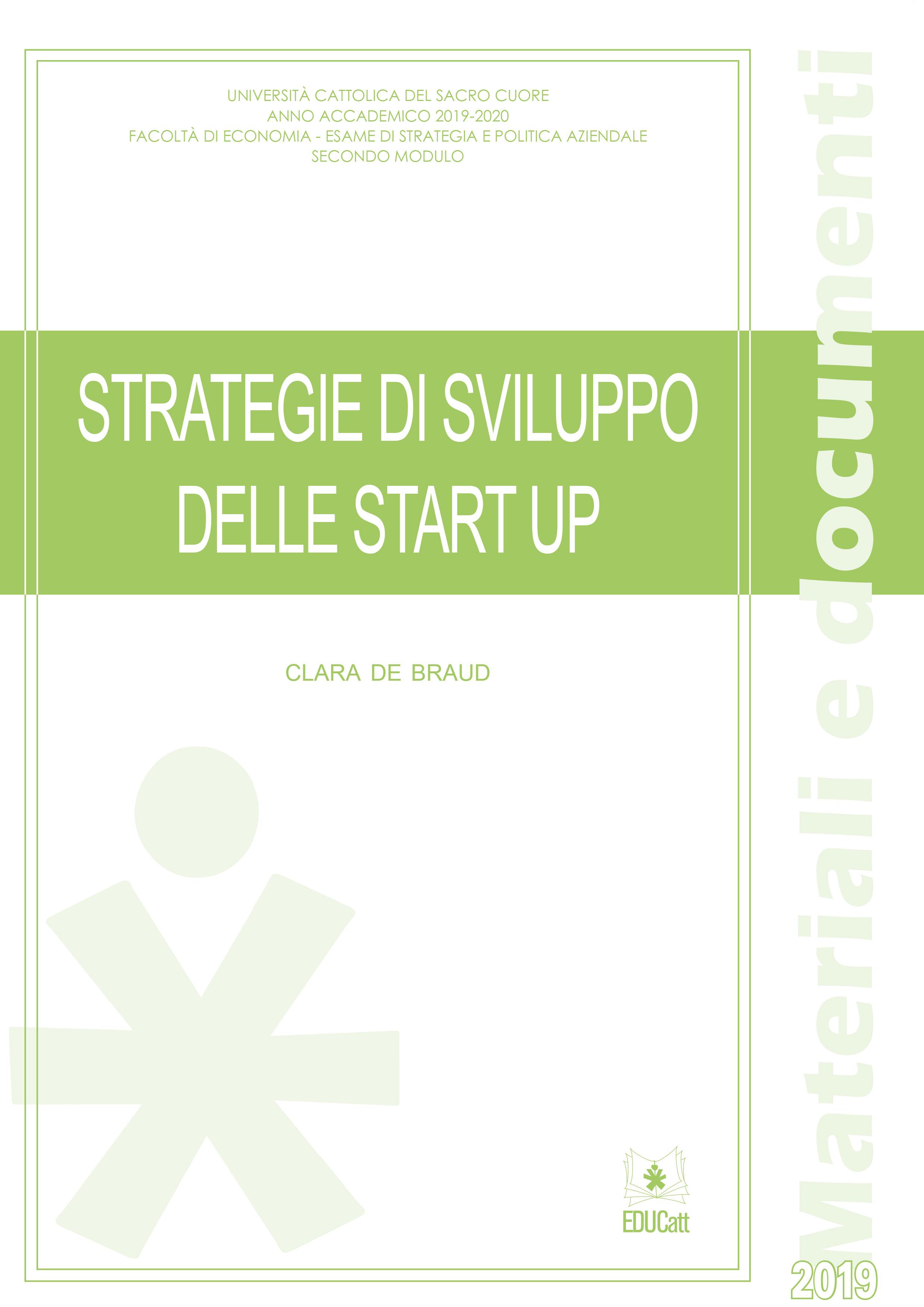 Strategie di sviluppo delle start up