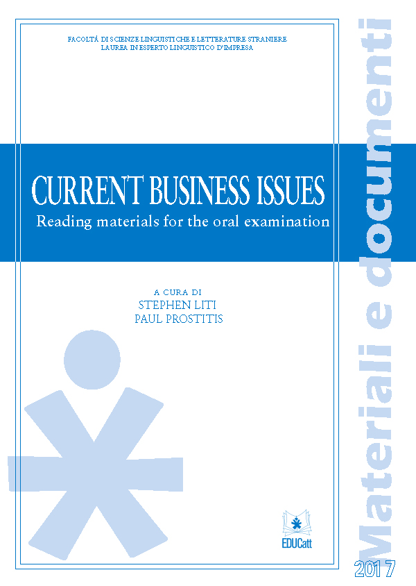 CURRENT BUSINESS ISSUES 2017