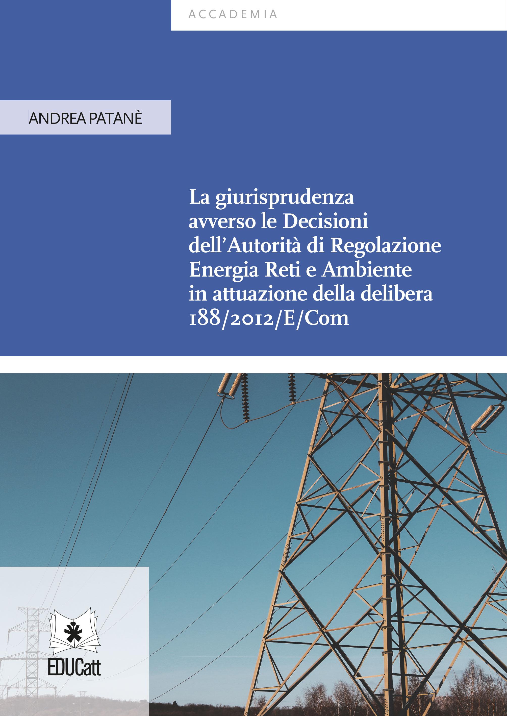 La giurisprudenza avverso le Decisioni dell'Autorità di Regolazione Energia Reti e Ambiente in attuazione della delibera 188/2012/E/Co [NE cartaceo]
