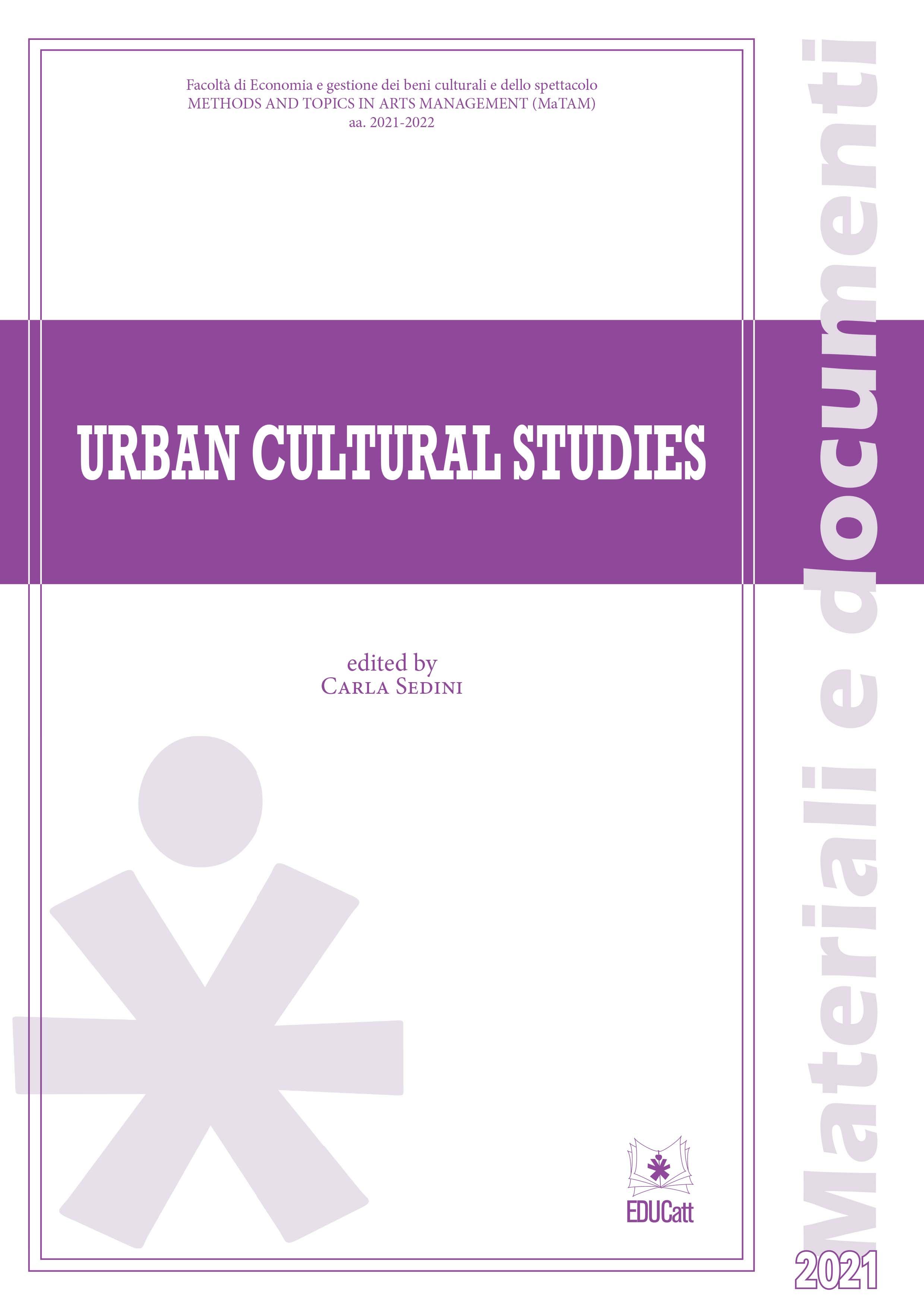 URBAN CULTURAL STUDIES 2021