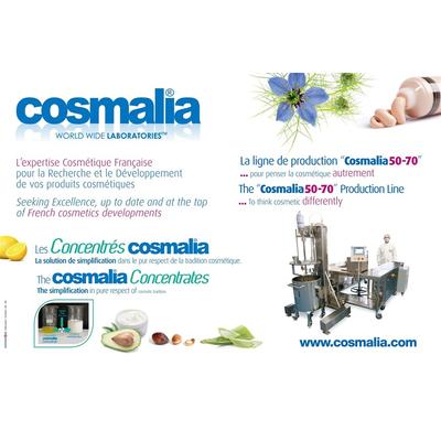 The COSMALIA 50-70 and the CONCENTRATES COSMALIA