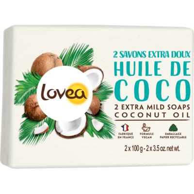 2 Extra Mild Soaps Exotic Coconut