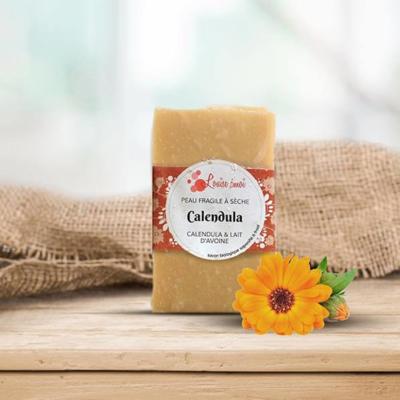 Cold process soap « Calendula »