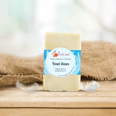 Cold process soap « Tout doux »