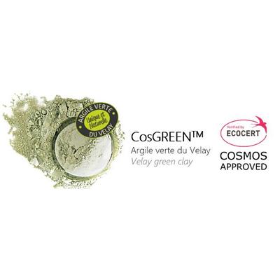 COSGREEN - VELAY GREEN CLAY - ECOCERT/COSMOS