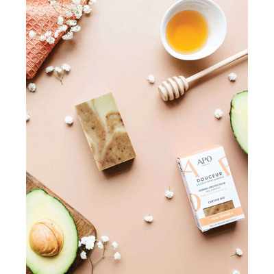 SOLID COLD-PROCESSED SOAPS Douceur - Sensitive skin