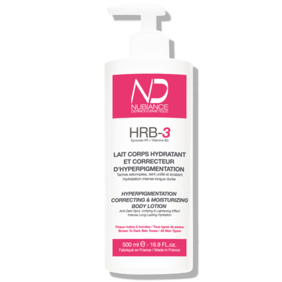 HRB-3 Hyperpigmentation correcting and moisturizing Body Lotion , 500ml