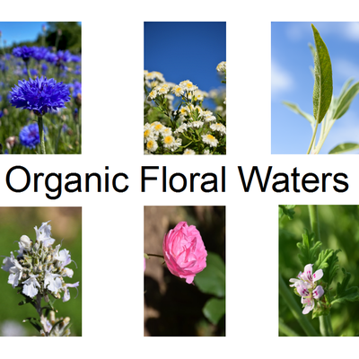 Organic Floral Waters