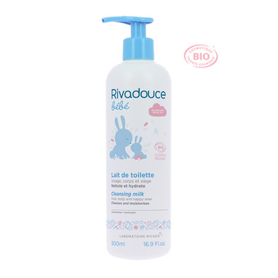RIVADOUCE BABY Cleansing and Moisturising Milk