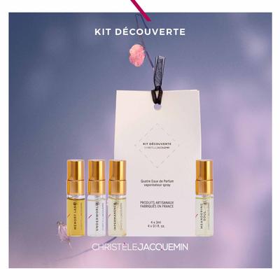 DISCOVERY KIT · Four gender-neutral Eau de Parfum