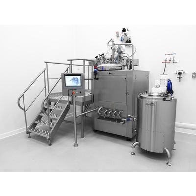 Vacuum Homogenizers for industrial production