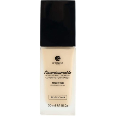 """COVERING FOUNDATION """"L'INCONTOURNABLE"""" – COLOR BEIGE CLAIR – MATIFYING – 24H HOLDING"""