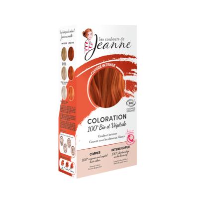 HAIR COLOUR – COPPER -100% Plant-based hair colour- COSMOS ORGANIC