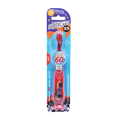 Flashing toothbrush with Timer Supercars