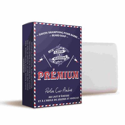 PREMIUM BEARD SHAMPOO WITH DONKEY MILK - Amber Leather Fragrance