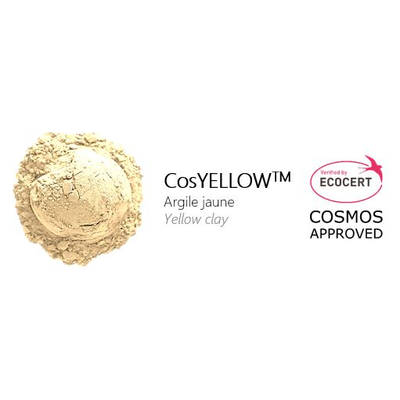 COSYELLOW - YELLOW CLAY - ECOCERT/COSMOS