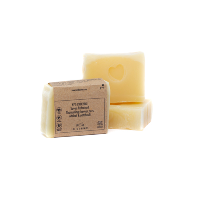 Soap 5 PATCHOU, Surgras 6%, Made in Auvergne