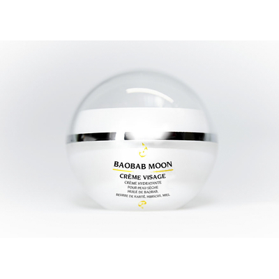 Face cream with baobab oil