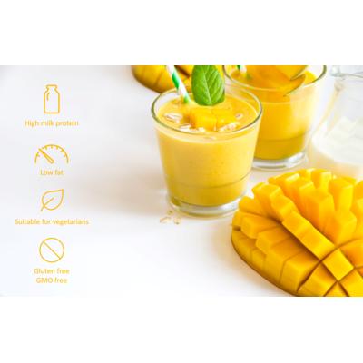 High Protein mango flavoured dessert
