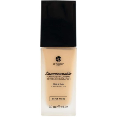 """COVERING FOUNDATION """"L'INCONTOURNABLE"""" – COLOR BEIGE OCRE – MATIFYING – 24H HOLDING"""