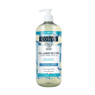 NEUTRAL CLEANSING GEL - HYPOALLERGENIC- COSMOS ORGANIC