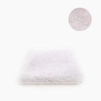 """6X """"J'ose les Flamant Rose"""" Reusable organic make-up remover wipes"""