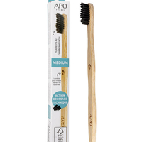 DENTAL CARE PRODUCTS Medium Bamboo Toothbrush