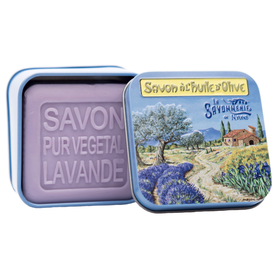 3.5 OZ SOAP IN TIN BOX - PROVENÇAL LANDSCAPE