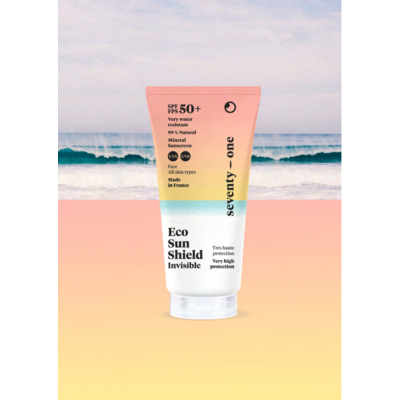 SEVENTYONE PERCENT - ECO SUN SHIELD - INVISIBLE – SPF50+